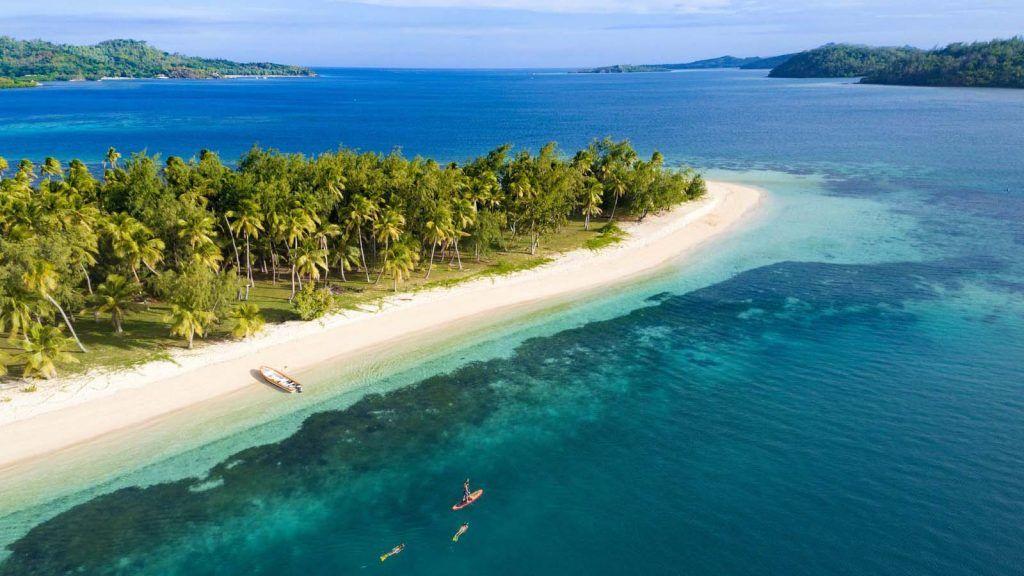 Blue Lagoon, Fiji.